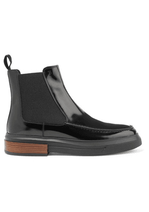 Tod's - Glossed-leather Chelsea Boots - Black