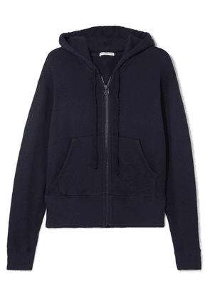 James Perse - Cotton-blend Hoodie - Navy