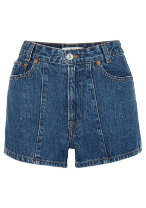 Solid & Striped - + Re/done The Venice Denim Shorts - Mid denim