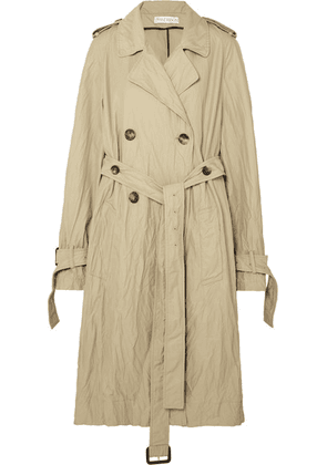 JW Anderson - Crinkled-twill Trench Coat - Beige