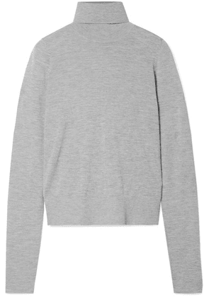 Co - Cashmere Turtleneck Sweater - Gray