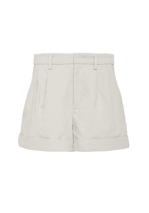 Isabel Marant Kab Cotton-Blend High-Rise Short