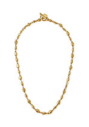 Nafsi Bronze Beaded Necklace, 27'