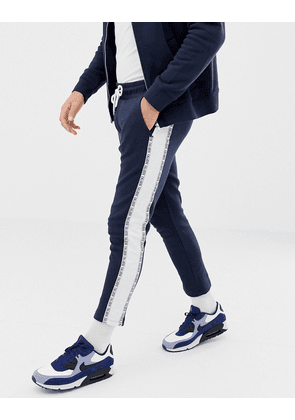 Jack & Jones Core Cropped Side Taping Joggers