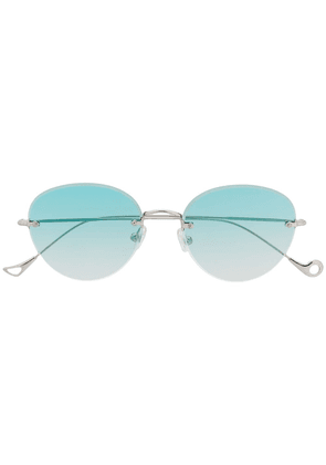 Eyepetizer frameless sunglasses - Silver