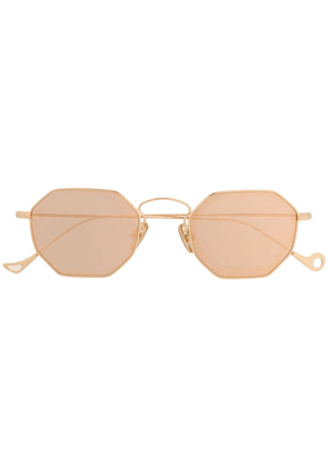 Eyepetizer geometric frame glasses - Gold