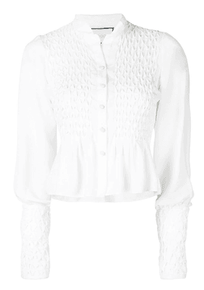 Alexis Capizzi embroidered top - White