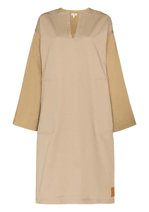 Loewe midi tunic dress - Brown