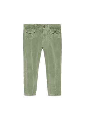 Children's stretch corduroy trousers