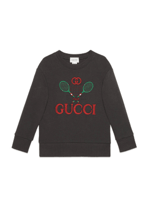 Children's sweatshirt with Gucci Tennis