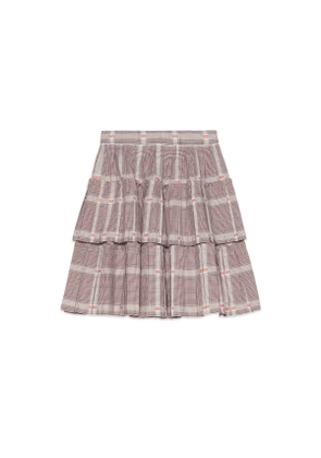 Children's Prince of Wales wool skirt