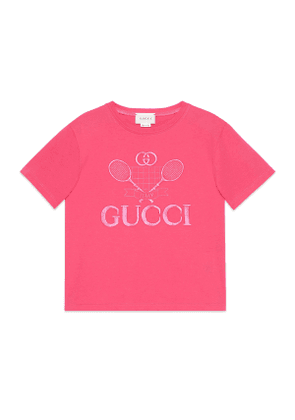 Children's T-shirt with Gucci Tennis