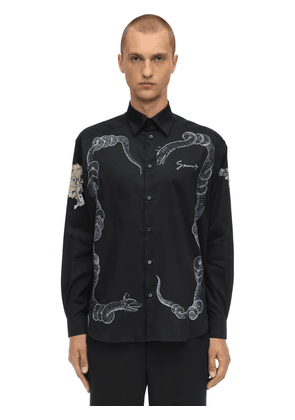 Icarus Printed Cotton Shirt