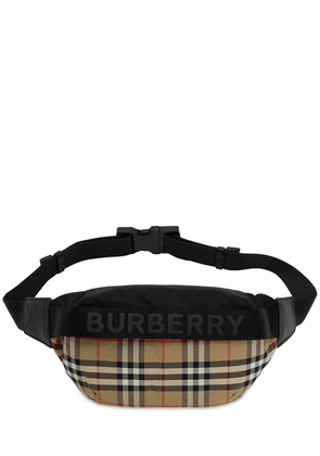 Sonny Vintage Check Nylon Belt Bag