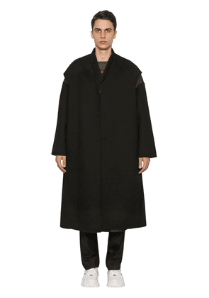 Two-layer Wool & Cashmere Coat