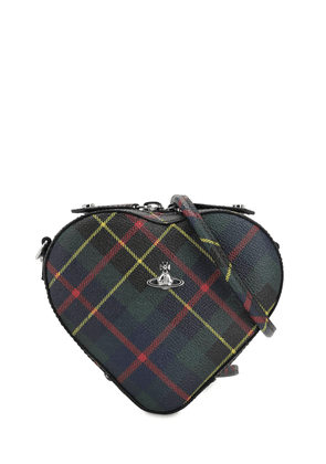 Derby Coated Canvas Heart Bag
