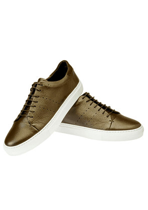 Brown Leather Andy Sneakers