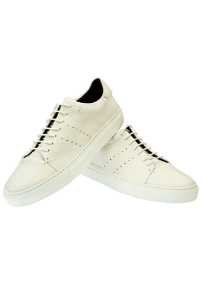White Leather Andy Sneakers