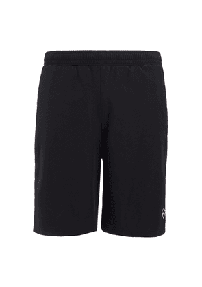 Black Technical-Woven Luther Shorts