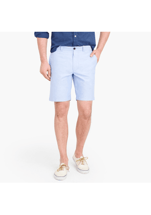 9' oxford short in blue