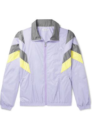 Flagstuff - Logo-embroidered Tech-shell Track Jacket - Purple