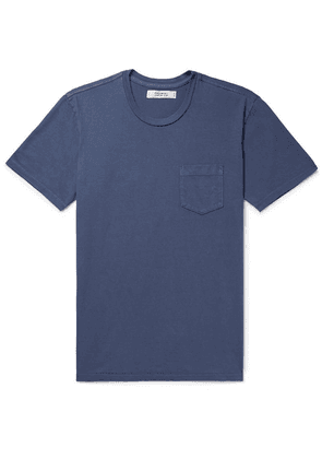 Freemans Sporting Club - Cotton-jersey T-shirt - Storm blue