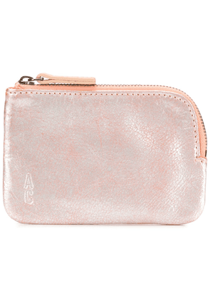 Ally Capellino zipped make-up bag - Pink