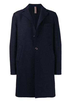 Eleventy double breasted coat - Blue