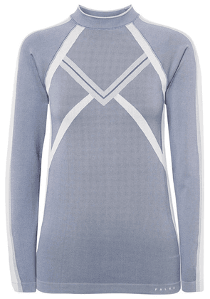 FALKE Ergonomic Sport System - Maximum Warm Stretch-knit Top - Blue