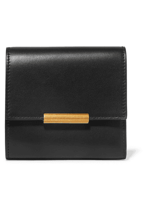 Bottega Veneta - Embellished Leather Wallet - Black