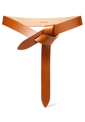 Isabel Marant - Lecce Leather Belt - Tan
