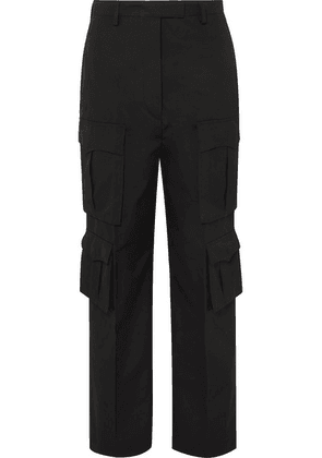 Prada - Cotton-gabardine Cargo Pants - Black
