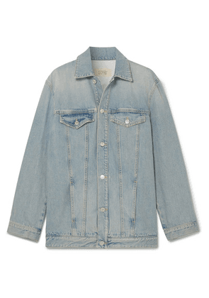 Givenchy - Embroidered Denim Jacket - Blue