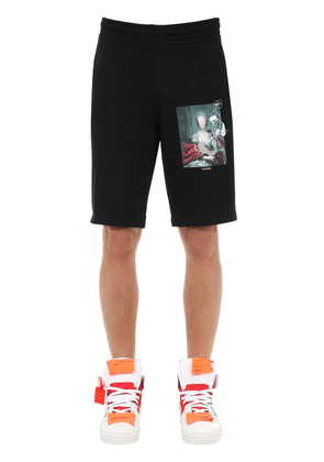Mariana De Silva Cotton Jersey Shorts