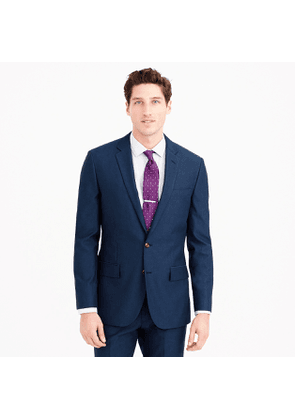 Ludlow Slim-fit suit jacket in Italian cotton oxford