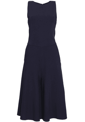 Valentino Cropped Knitted Jumpsuit Woman Indigo Size L