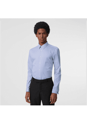 Burberry Modern Fit Double Cuff Cotton Shirt, Size: 17