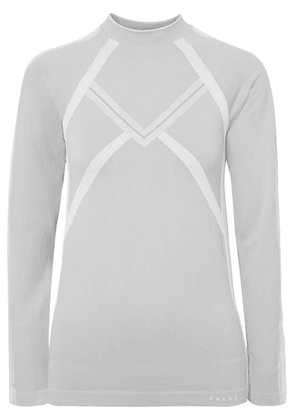 FALKE Ergonomic Sport System - Maximum Warm Stretch-knit Top - Light gray