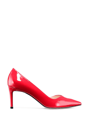 Stuart Weitzman - The Anny 70 Pump In Follow Me Red - Size 36.5
