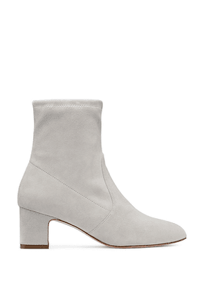 Stuart Weitzman - The Niki 60 Bootie In Seal Light Taupe - Size 39