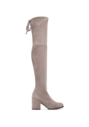 Stuart Weitzman - The Tieland Boot In Taupe - Size 41.5