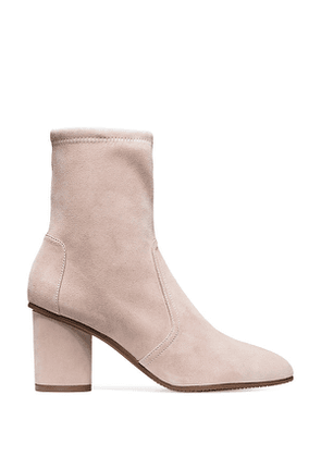 Stuart Weitzman - The Margot 75 Bootie In Dolce Taupe - Size 41.5