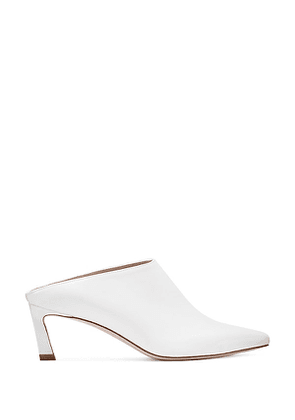 Stuart Weitzman - The Mira Mule In Off White - Size 38