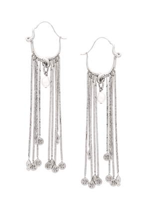 Givenchy pendant strip earrings - Silver