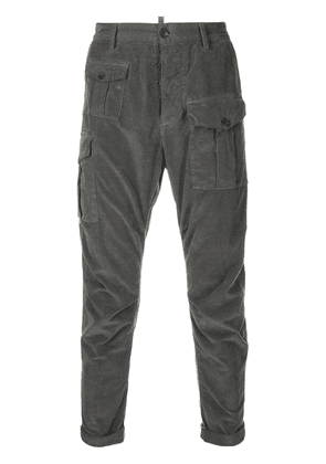 Dsquared2 corduroy slim-fit trousers - Grey