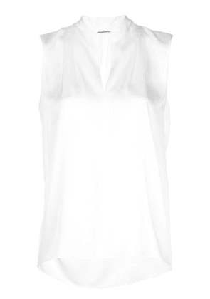 Elie Tahari sleeveless blouse - White