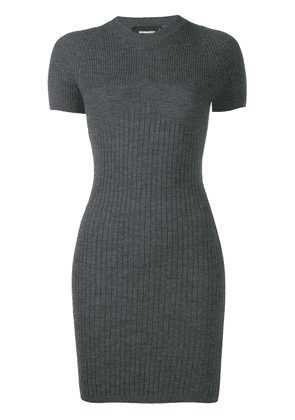 Dsquared2 ribbed fitted dress - Grey