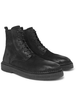 Marsell - Suede Boots - Black