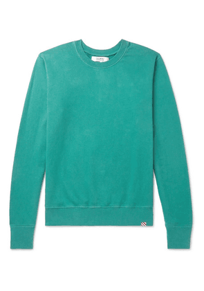 Freemans Sporting Club - Loopback Cotton-jersey Sweatshirt - Teal