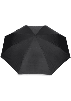 Burberry Vintage Check-lined Folding Umbrella - Black